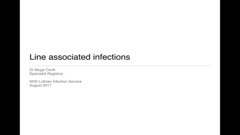 Thumbnail for entry Microbites - Line associated infections