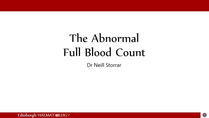 FBC 1 - Other abnormalities