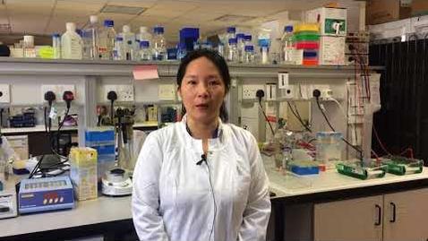 Thumbnail for entry Euan MacDonald Centre researcher: Nikki Huang