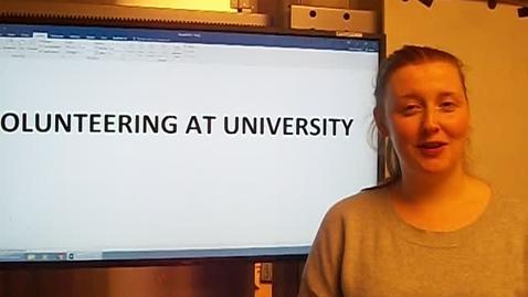 Thumbnail for entry Digital Volunteering - Georgia - Volunteering at University