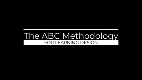 Thumbnail for entry ABC Course Unit 1 introduction