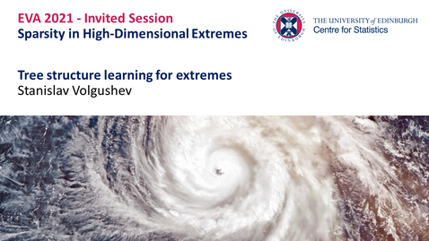 Thumbnail for entry Sparsity in High-Dimensional Extremes: Stanislav Volgushev