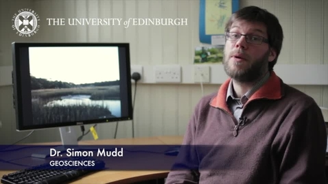Thumbnail for entry Simon Mudd - Geoscience- Research In A Nutshell - School of GeoSciences -30/03/2013