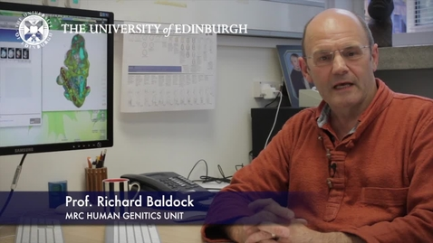 Thumbnail for entry Richard Baldock -MRC Human Genetics Unit-Research In A Nutshell- MRC Institute of Genetic and Molecular Medicine-12/07/2012
