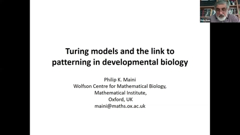 Thumbnail for entry UK-APASI in Mathematical Sciences: Philip K. Maini
