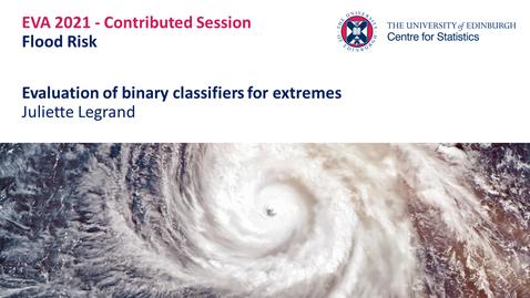 Thumbnail for entry Flood Risk: Juliette Legrand
