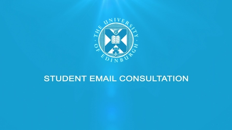 Thumbnail for entry Student Email Consultation
