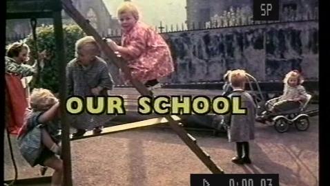 Thumbnail for entry Moray House Nursery School: Our School 1959