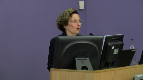 Thumbnail for entry Naomi Eisenstadt lecture – Review of the Life Chances of Young People