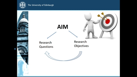 Thumbnail for entry MSc Research Questions Lecture: Part 3