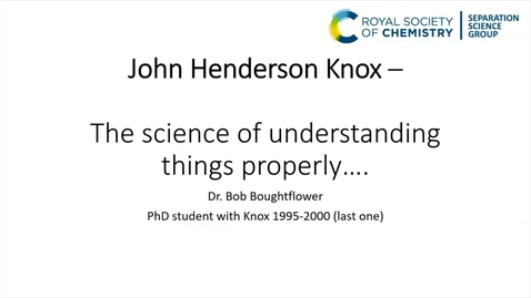 Thumbnail for entry Bob Boughtflower - The Science of Understanding Things Properly