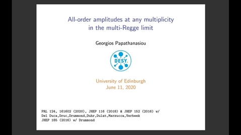 Thumbnail for entry All-order amplitudes at any multiplicity in the multi-Regge limit