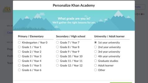 Thumbnail for entry Khan Academy Tutorial