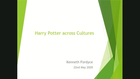 Thumbnail for entry Harry Potter across cultures