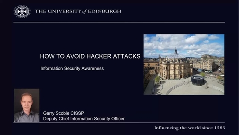 Thumbnail for entry (UG and PG) How-to avoid hacker attacks