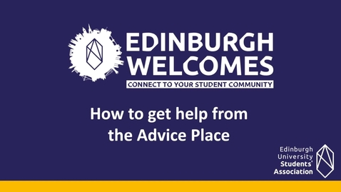 Thumbnail for entry (UG & PG) How-to get help from the Advice Place