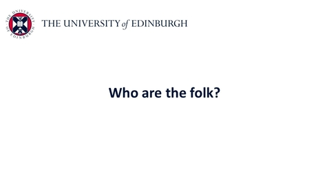 Thumbnail for entry Folk psychology - Who are the folk?