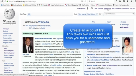Thumbnail for entry How easy is Wikipedia's new Visual Editor to use? - 5 min walkthrough
