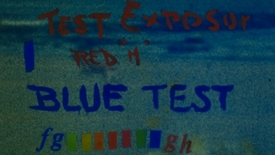 Thumbnail for entry 6109 Florescent Paint Tests