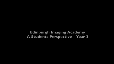 Thumbnail for entry Aldo, Imaging MSc online student - Year two courses