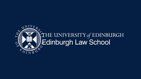 Thumbnail for entry MacCormick Fellow Seminar: Prof Martin Loughlin