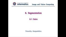 Thumbnail for entry 6.1 Segmentation - Intro