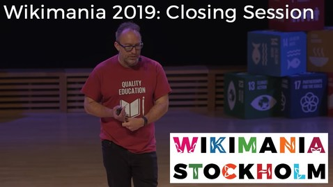 Thumbnail for entry Wikimania 2019: Closing Session - Jimmy Wales and Katherine Maher on the Future of the Wikimedia Movement;