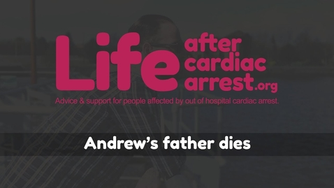 Thumbnail for entry Andrew's father dies