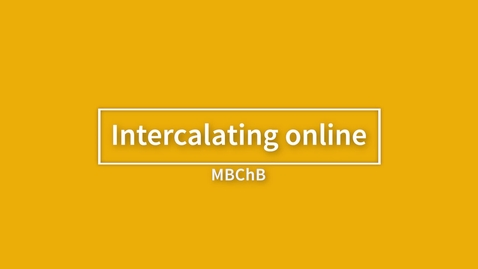 Thumbnail for entry Intercalating online_Zac Finch