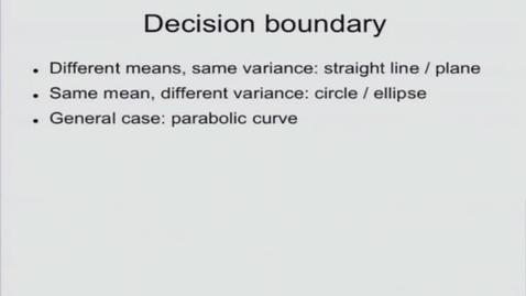 Thumbnail for entry Naive Bayes Decision Boundary