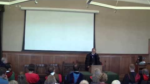 Thumbnail for entry Opening Lecture by Emeritus Professor Larry Hurtado 2014