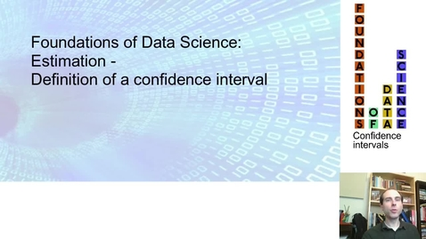 Thumbnail for entry FDS-S2-01-2-5 Definition of confidence intervals
