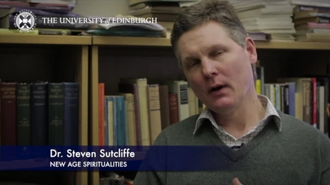 Thumbnail for entry Steve Sutcliffe- New Age Spiritualities-Research In A Nutshell-School of Divinity-01/04/2014
