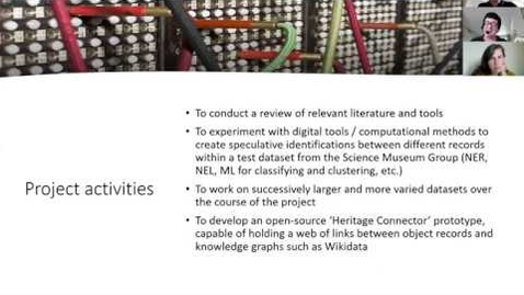 Thumbnail for entry Preliminary findings from a literature review exploring the use of Linked Open Data by museums