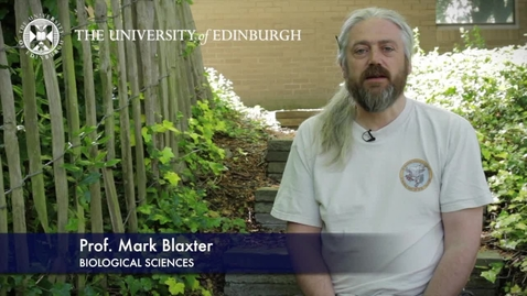 Thumbnail for entry Mark Blaxter - Biological Sciences- Research In A Nutshell - School of Biological Sciences -06/07/2012