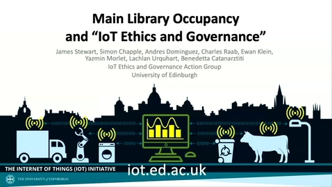 Thumbnail for entry Internet of Things Ethics and Governance - Data Controversies 2019