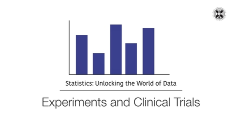 Thumbnail for entry Statistics - Experiments and Clinical Trials