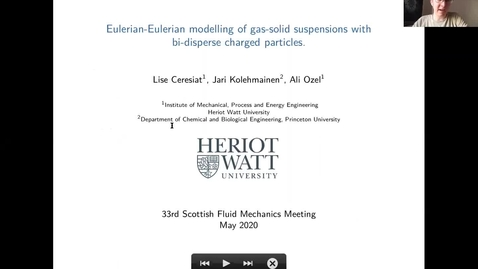 Thumbnail for entry L Ceresiat 33rd Scot Fluid Mechanics