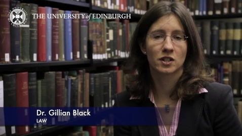 Thumbnail for entry Gillian Black-Law-Research In A Nutshell-School of Law-24/07/2012