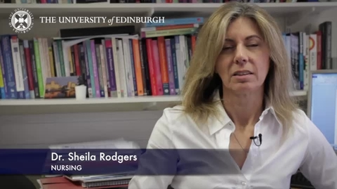 Thumbnail for entry Sheila Rogers-Nursing - Research In A Nutshell- School of Health in Social Science-07/04/2014
