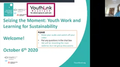 Thumbnail for entry LfS and Youth work 6 Oct -1-