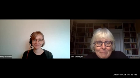 Thumbnail for entry Interdisciplinary Conversations with Prof. Jane Ohlmeyer - 2