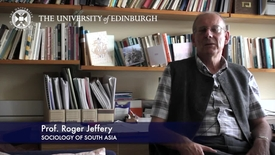 Thumbnail for entry Roger Jeffery-Sociology of South Asia -Research In A Nutshell- School of Social and Political Science-08/08/2012