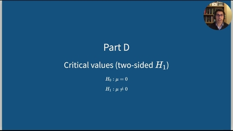 Thumbnail for entry dapr1 - hypothesis testing: critical values (d)