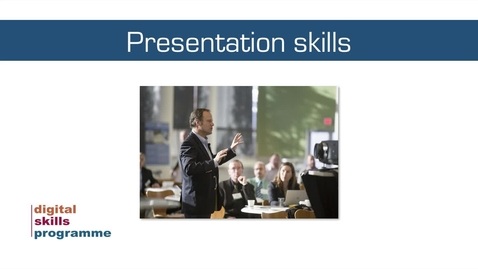 Thumbnail for entry Developing Your Data Skills Programme 2020-2021 - Workshop 3 - Presenting Your Data