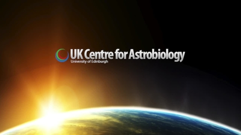 Thumbnail for entry Astrobiology - Formation of the solar system