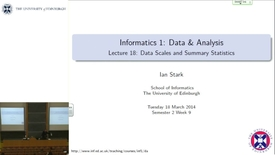Thumbnail for entry Data Scales and Summary Statistics
