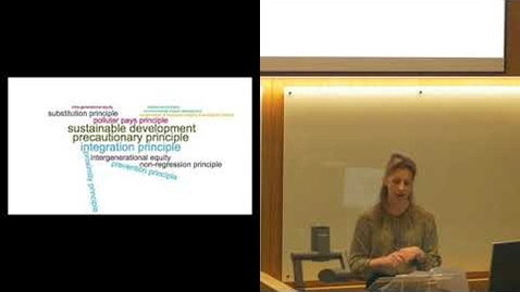Thumbnail for entry Brodies Environmental Law Lecture: Prof Eloise Scotford