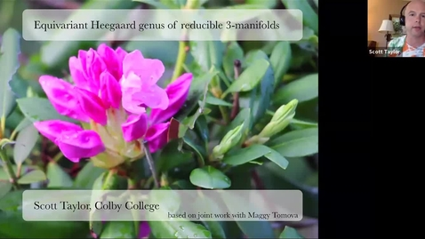 Thumbnail for entry Equivariant Heegaard genus of reducible three-manifolds - Scott Taylor