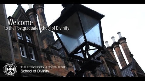 Thumbnail for entry Graduate School at The School of Divinity